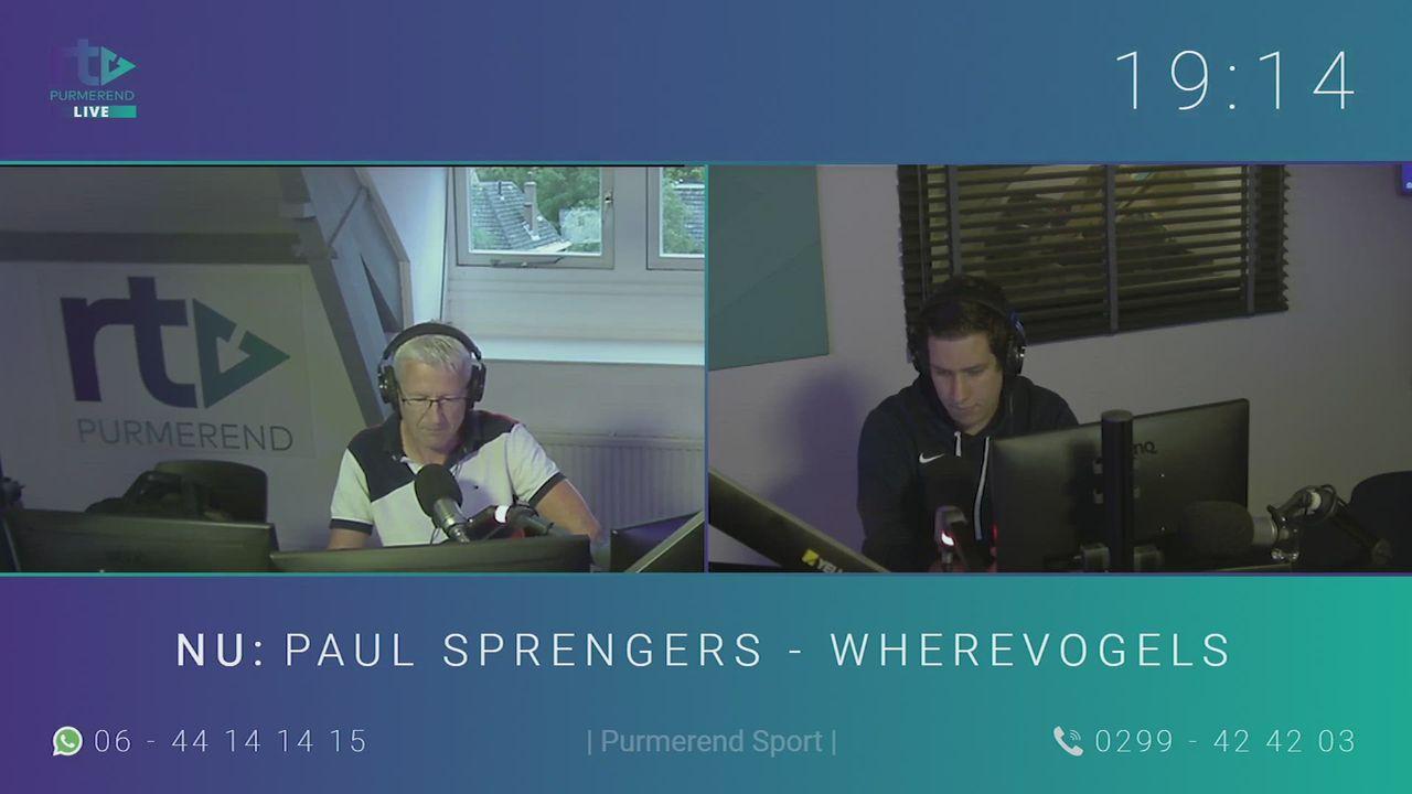 Paul Sprengers over V.V. Wherevogels