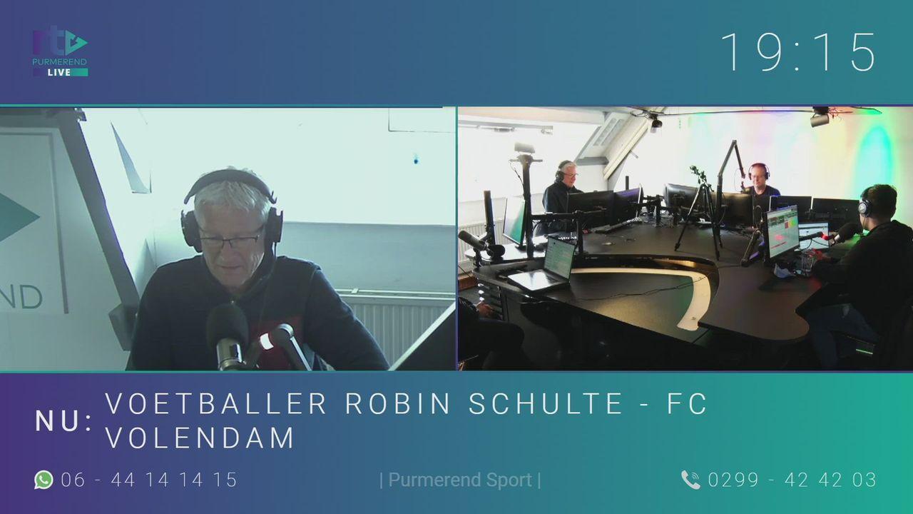 Voetballer Robin Schulte - FC Volendam
