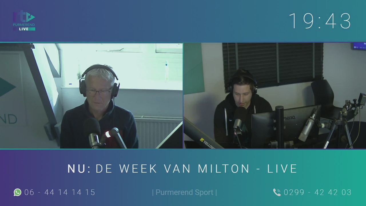De Week van Milton - Live