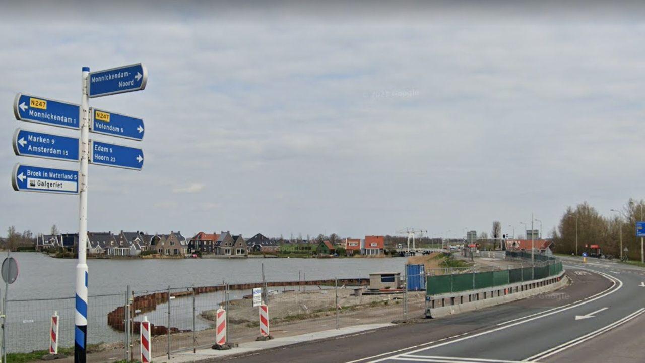 N247 bij Monnickendam twee weekenden dicht
