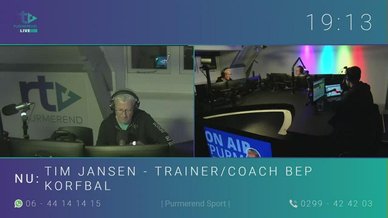 Tim Jansen - trainer/coach BEP korfbal