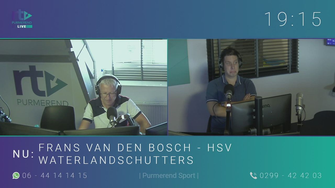 Frans van den Bosch - HSV Waterlandschutters